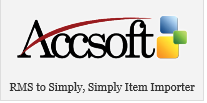 AccSoft has developed many solutions with Microsoft RMS to provide specific solutions to its customers including RMS Connectors to various ERP applications, RMS Item Importer and Gift Receipts and solution for College and University labs, Police departments; and Courts