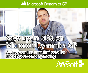 Microsoft Dynamics GP Promotions - give me 5